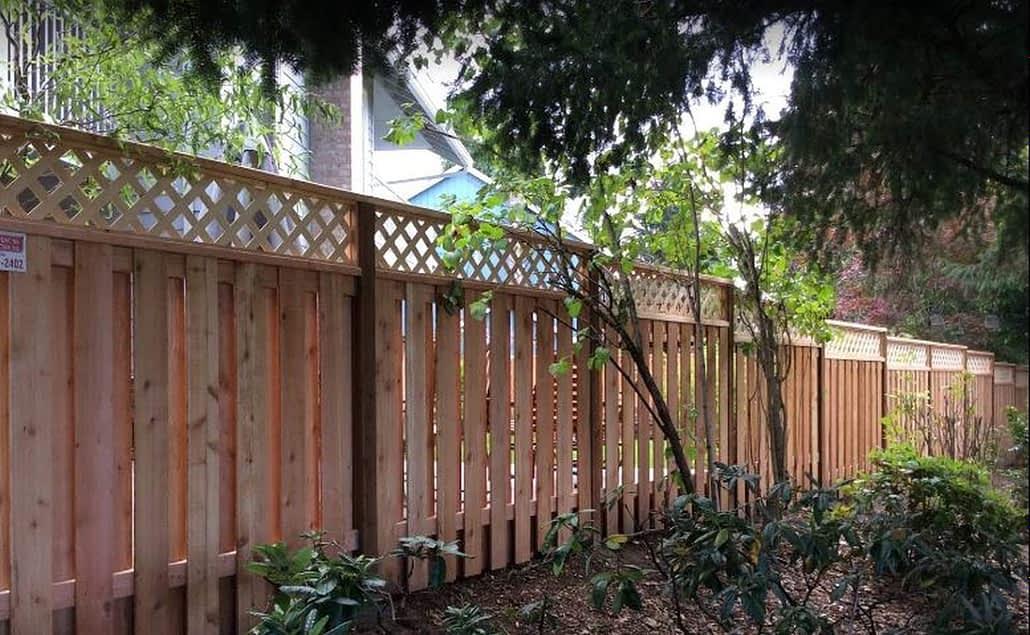 cedar fencing Beaverton