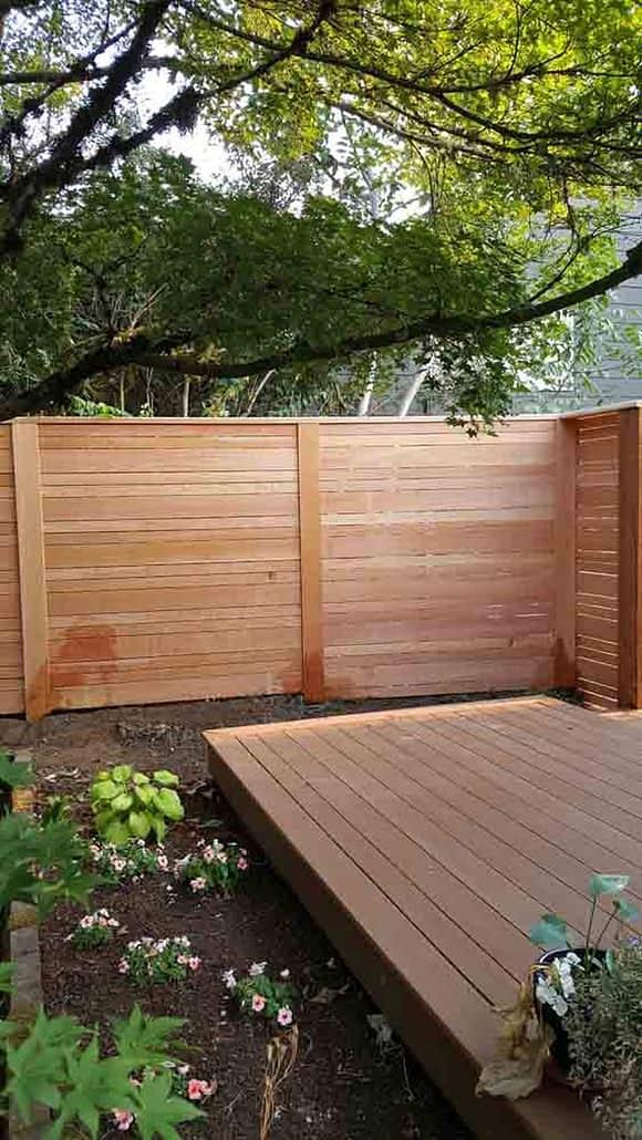 fence contractor Portland